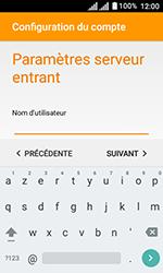 Alcatel U3 - E-mails - Ajouter ou modifier un compte e-mail - Étape 11