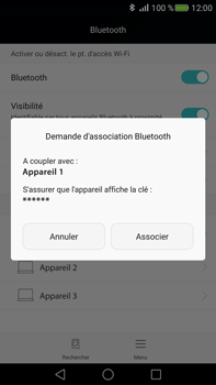 Huawei Mate S - Bluetooth - connexion Bluetooth - Étape 8