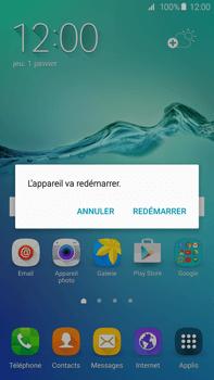 Samsung Galaxy S6 edge+ - Device maintenance - Effectuer une réinitialisation logicielle - Étape 4