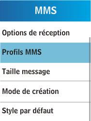Samsung C3300K - MMS - Configuration manuelle - Étape 6