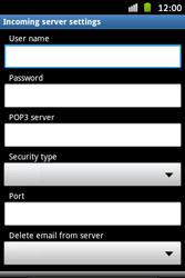 Samsung S6500D Galaxy Mini 2 - E-mail - Manual configuration - Step 8