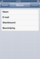Apple iPhone 4 (iOS 6) - e-mail - handmatig instellen - stap 7