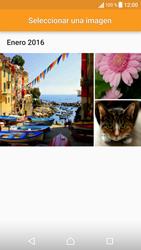 Sony Xperia X - Mensajería - Escribir y enviar un mensaje multimedia - Paso 15