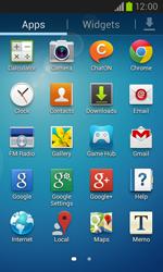 Samsung I8260 Galaxy Core - E-mail - Manual configuration - Step 3