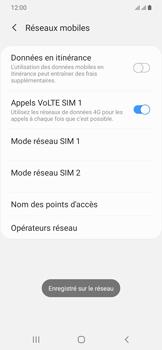 Samsung Galaxy A20e - Réseau - utilisation à l'étranger - Étape 17