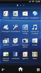 Sony Ericsson Xperia Ray - Wifi - configuration manuelle - Étape 2