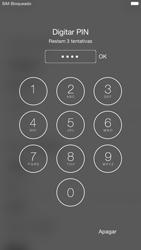 Apple iPhone 6 iOS 9 - Primeiros passos - Como ligar o telemóvel pela primeira vez -  6