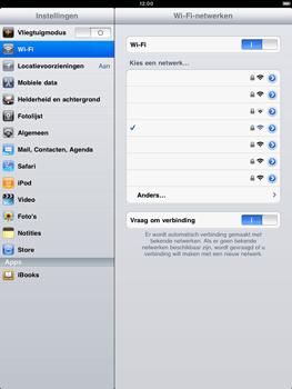 Apple iPad 2 - WiFi - Handmatig instellen - Stap 7