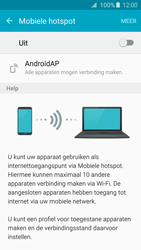 Samsung Galaxy S6 Edge - WiFi - Mobiele hotspot instellen - Stap 6