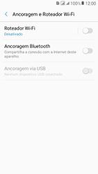 Samsung Galaxy J2 Prime - Wi-Fi - Como usar seu aparelho como um roteador de rede wi-fi - Etapa 6
