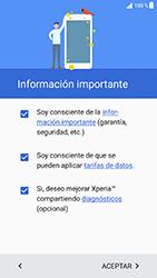 Sony Xperia XZ - Android Nougat - Primeros pasos - Activar el equipo - Paso 5