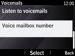 Nokia Asha 210 - Voicemail - Manual configuration - Step 6