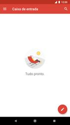 Google Pixel 2 - Email - Como configurar seu celular para receber e enviar e-mails - Etapa 6