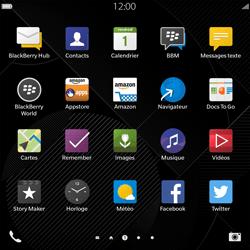 BlackBerry Passport - Mms - Configuration manuelle - Étape 3
