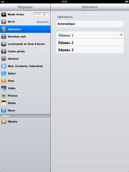 Apple iPad - Réseau - utilisation à l'étranger - Étape 7