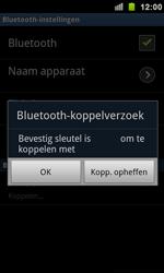 Samsung I9100 Galaxy S II - Bluetooth - headset, carkit verbinding - Stap 8