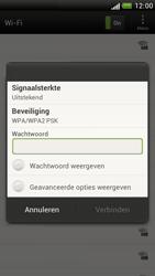 HTC Z520e One S - WiFi - Handmatig instellen - Stap 7