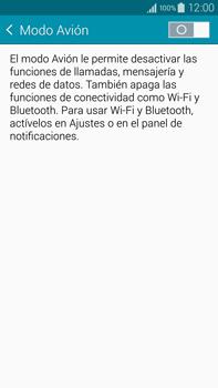 Samsung N910F Galaxy Note 4 - Funciones básicas - Activar o desactivar el modo avión - Paso 5