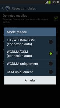 Samsung Galaxy Note 3 - Internet et connexion - Activer la 4G - Étape 7