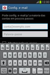 Samsung Galaxy Fame - Email - Adicionar conta de email -  5