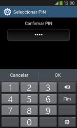 Samsung Galaxy Ace 3 LTE - Segurança - Como ativar o código de bloqueio do ecrã -  11