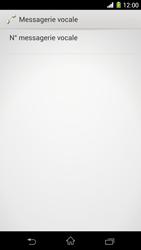 Sony C6903 Xperia Z1 - Messagerie vocale - configuration manuelle - Étape 11