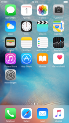 Apple iPhone 6 iOS 9 - Internet - Populaire sites - Stap 1