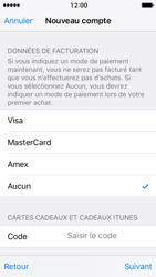 Apple iPhone SE - iOS 10 - Applications - Créer un compte - Étape 18