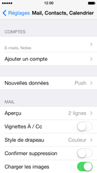 Apple iPhone 5s - E-mail - Configuration manuelle - Étape 16