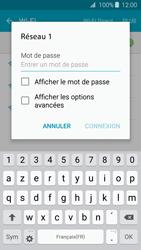 Samsung Galaxy J3 (2016) - Internet et connexion - Accéder au réseau Wi-Fi - Étape 7