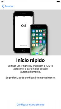 Apple iPhone 7 Plus iOS 11 - Primeiros passos - Como ligar o telemóvel pela primeira vez -  9