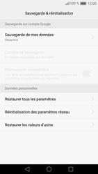 Huawei Huawei P9 Lite - Appareil - Réinitialisation de la configuration d