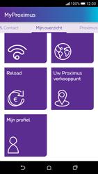 HTC Desire 626 - Applicaties - MyProximus - Stap 22