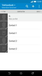 HTC Desire 610 - Contacten en data - Contacten kopiëren van SIM naar toestel - Stap 11