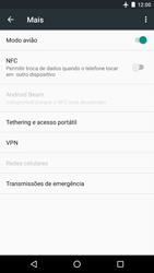 LG Google Nexus 5X - Rede móvel - Como ativar e desativar o modo avião no seu aparelho - Etapa 6