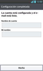LG Optimus L5 II - E-mail - Configurar correo electrónico - Paso 18