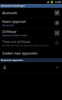 Samsung N7000 Galaxy Note - Bluetooth - koppelen met ander apparaat - Stap 11