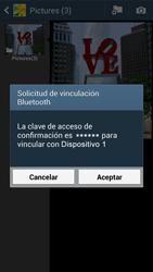 Samsung Galaxy S4 - Bluetooth - Transferir archivos a través de Bluetooth - Paso 13