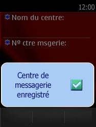 Nokia Asha 300 - SMS - configuration manuelle - Étape 8
