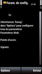 Nokia 5800 Xpress Music - Paramètres - Reçus par SMS - Étape 4
