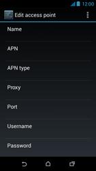 HTC Desire 310 - Internet - Manual configuration - Step 13
