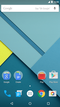 Motorola Nexus 6 - E-mail - Manual configuration - Step 1
