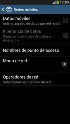 Samsung Galaxy S4 Mini - Internet - Activar o desactivar la conexión de datos - Paso 8
