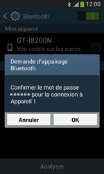 Samsung Galaxy S3 Lite (I8200) - Bluetooth - connexion Bluetooth - Étape 9