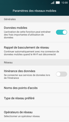 Huawei Y5 - Internet et connexion - Désactiver la connexion Internet - Étape 5