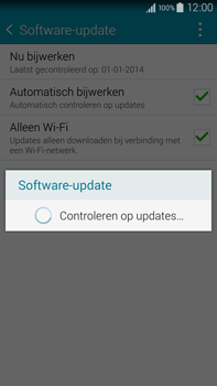 Samsung N910F Galaxy Note 4 - Software update - update installeren zonder PC - Stap 8