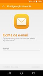 Alcatel Idol 4 VR - Email - Adicionar conta de email -  6