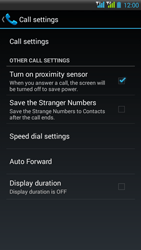 HTC Desire 516 - Voicemail - Manual configuration - Step 5