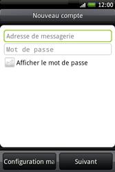 HTC A6262 Hero - E-mail - Configuration manuelle - Étape 5