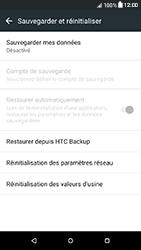 HTC Desire 650 - Aller plus loin - Restaurer les paramètres d'usines - Étape 5
